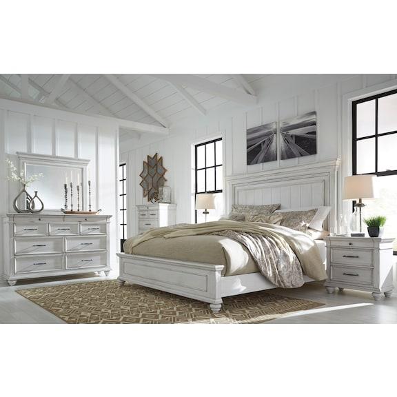 Bedroom Furniture - Taryn 4 Piece King Bedroom Set