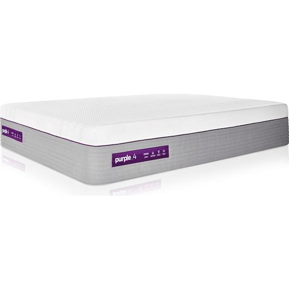 Mattresses and Bedding - Purple 4 Premier Hybrid King Mattress