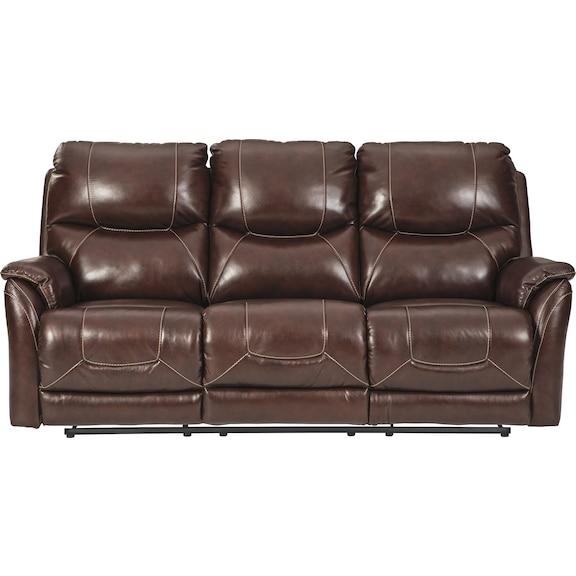 Living Room Furniture - Crescent Power Reclining Sofa