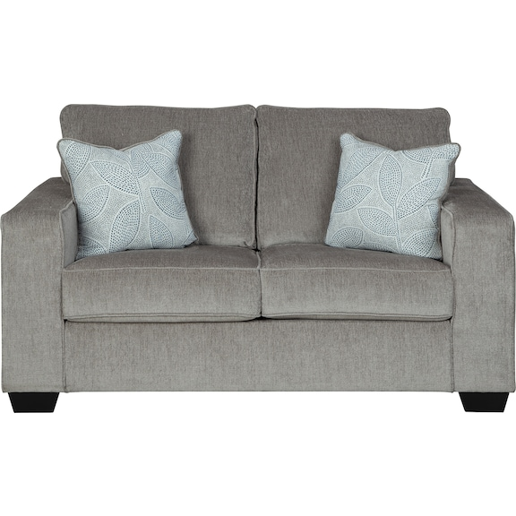 Living Room Furniture - Hartzell Alloy Loveseat