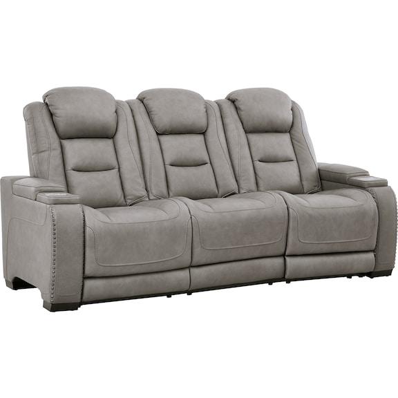 Living Room Furniture - Baxtor Power Reclining Sofa