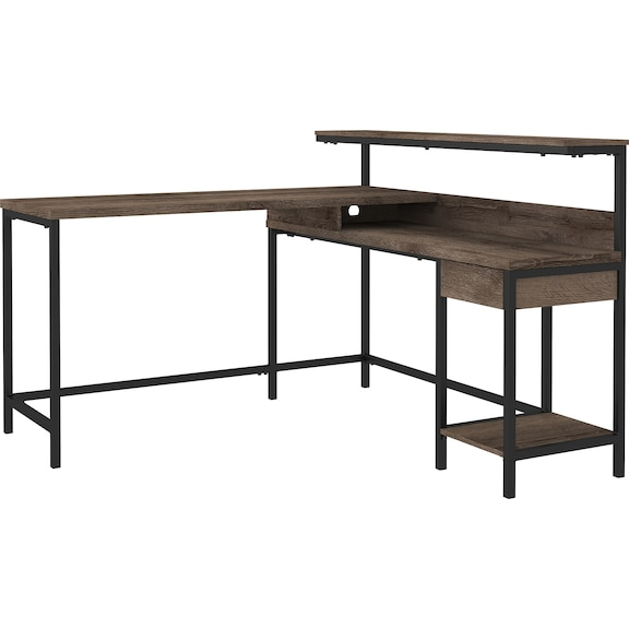 Home Office Furniture - Arlenbry L-Shaped Home Office Desk