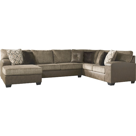 Living Room Furniture - Harlan 3 Piece Sectional