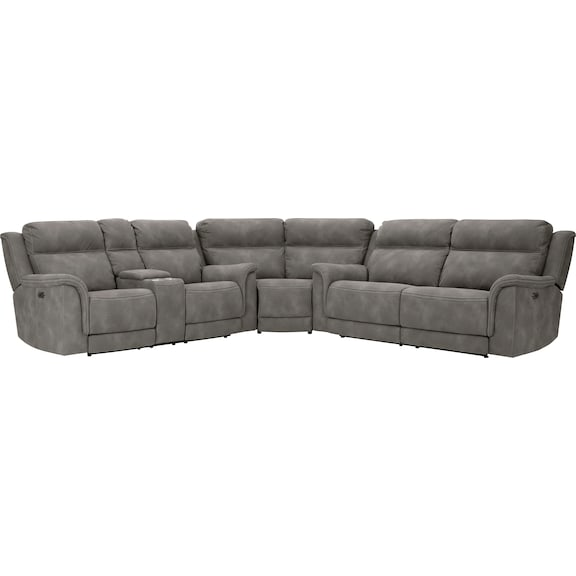 Living Room Furniture - Bodie 3 Piece Power Sectional