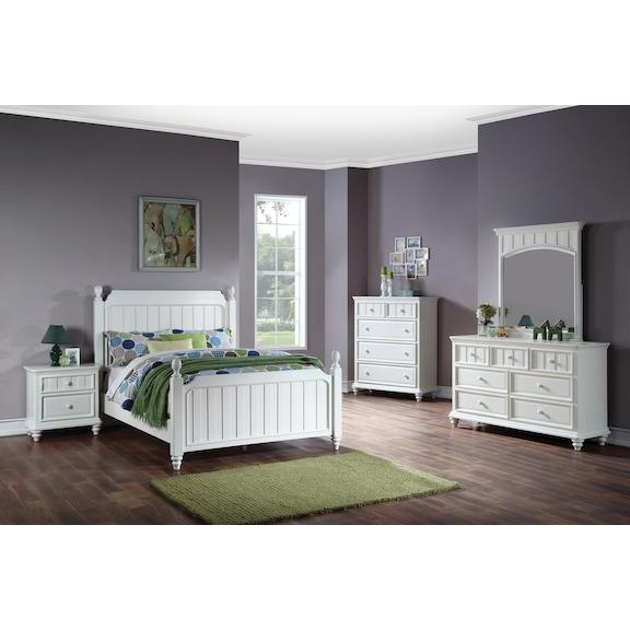 Kids Furniture - Laney Full Bedroom