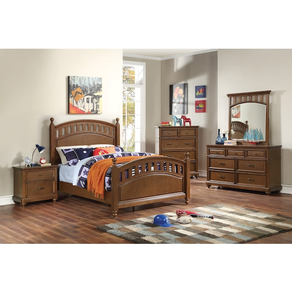 Kids Furniture - Brayden Full Poster Bed