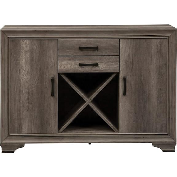 Dining Room Furniture - Suncadia Server - Grey