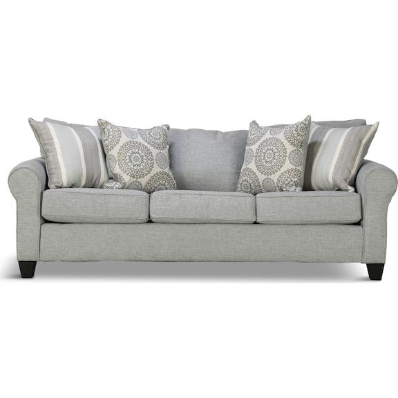 Living Room Furniture - Devon Queen Sleeper Sofa