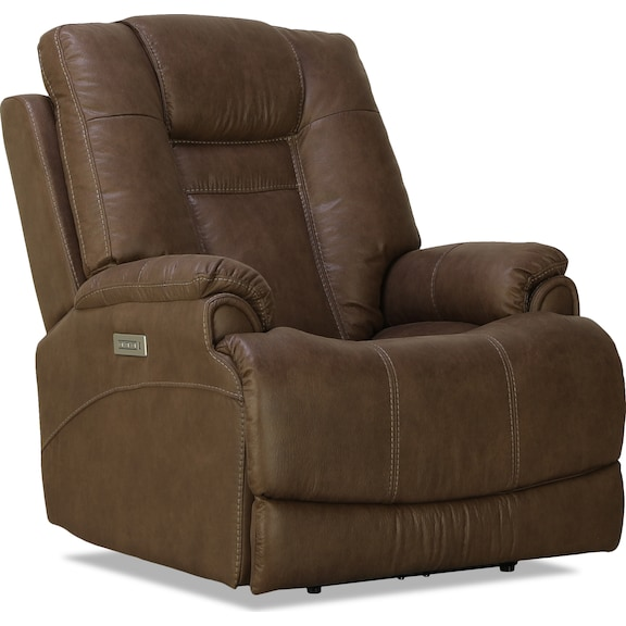 Living Room Furniture - Falon Power Recliner