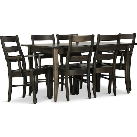 Dining Room Furniture - Small Space Living 7 Piece Dining Set