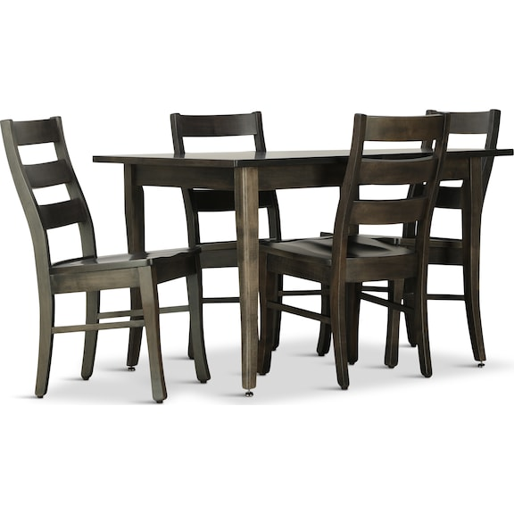 Dining Room Furniture - Small Space Living 5 Piece Dining Set