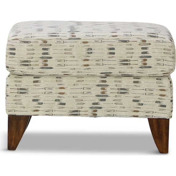 Living Room Furniture - Lonsdale Accent Ottoman - Twilight