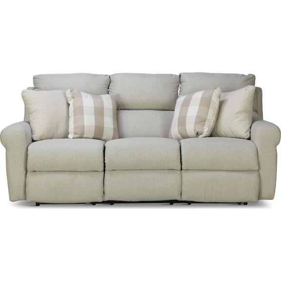 Living Room Furniture - Fairmont Lay Flat Reclining Sofa