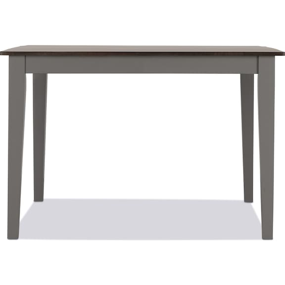 Dining Room Furniture - Sterling Counter-Height Dining Table - Gray