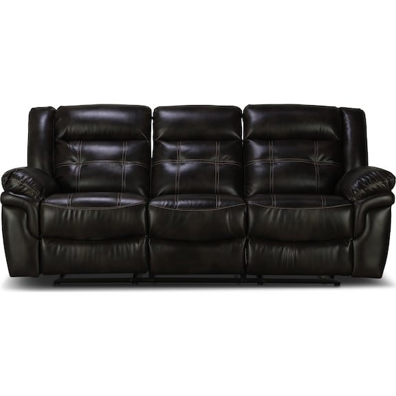 Living Room Furniture - Silas Reclining Sofa