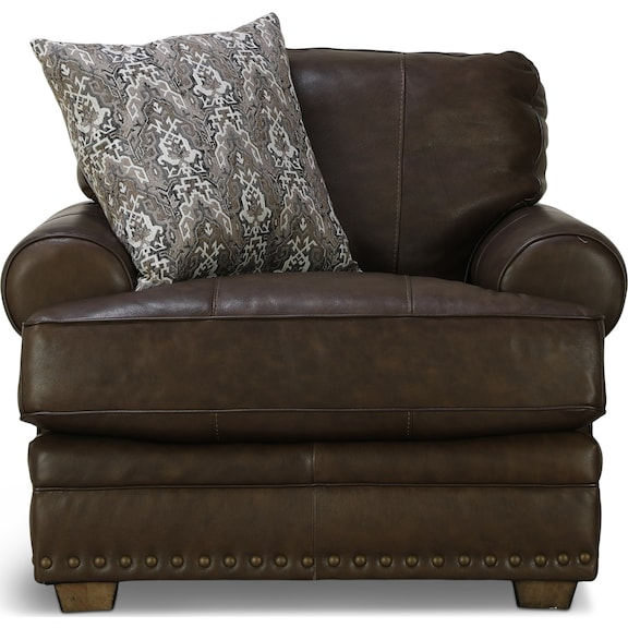 Living Room Furniture - Tula Leather Chair