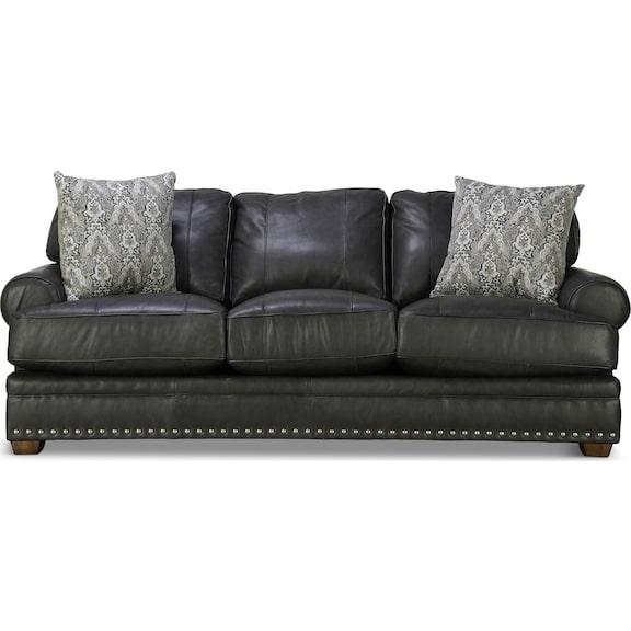 Living Room Furniture - Della Leather Sofa