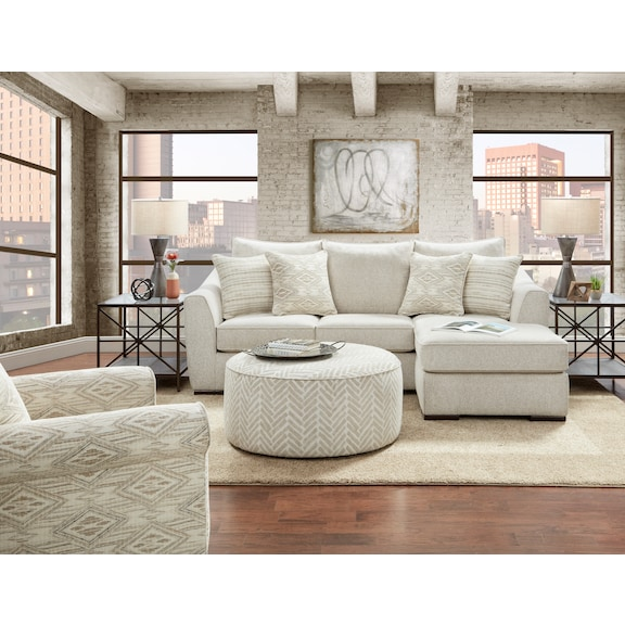 Living Room Furniture - Wilmington Sofa Chaise