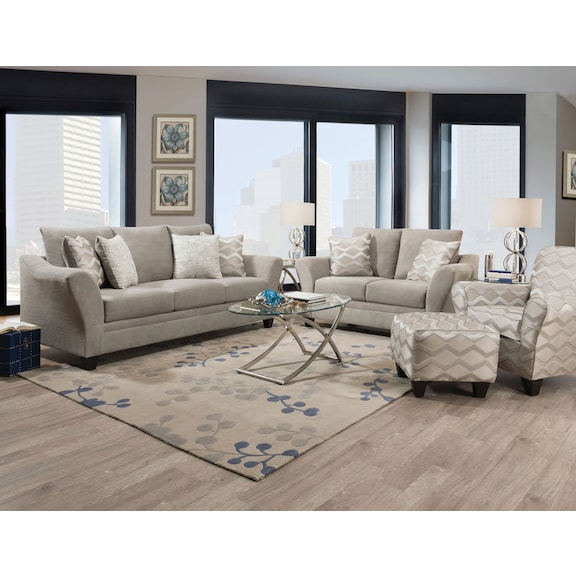 Living Room Furniture - Entice Accent Chair