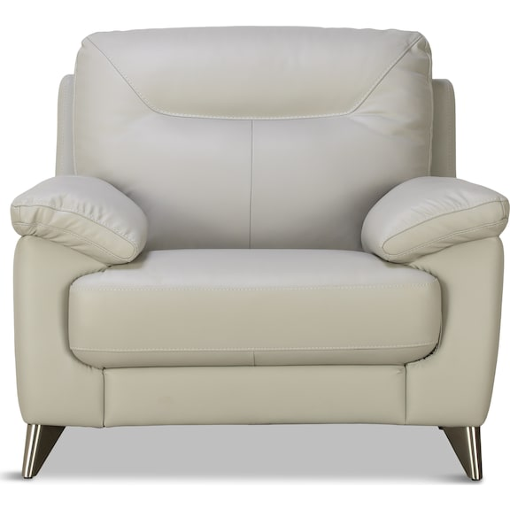 Living Room Furniture - Marta Leather Chair