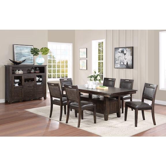 Dining Room Furniture - Reign 5 Piece Dining Room Set