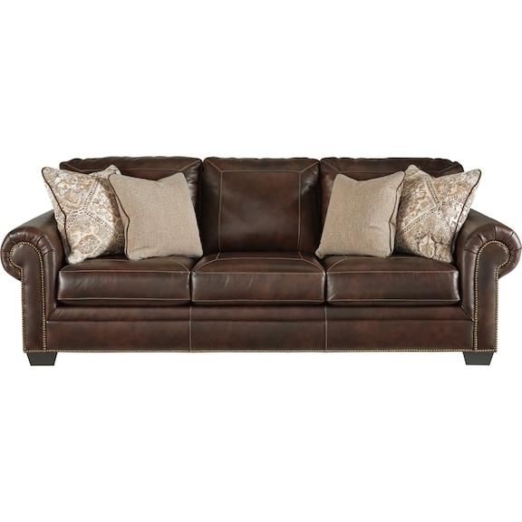 Living Room Furniture - Roleson Queen Sofa Sleeper