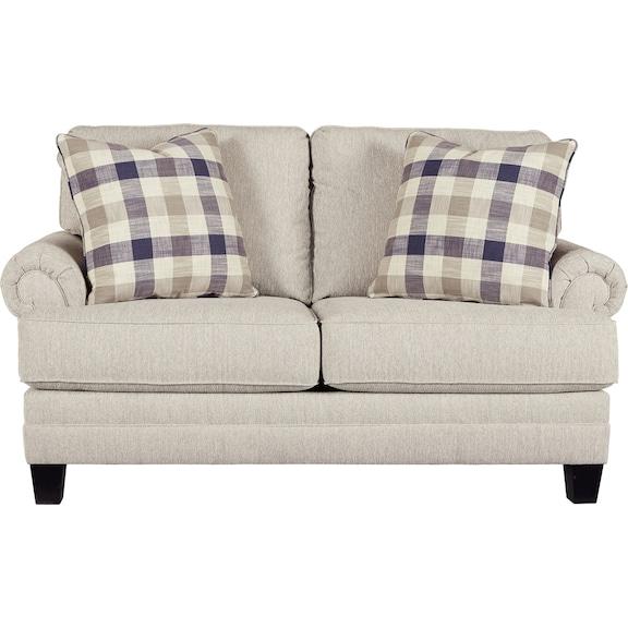 Living Room Furniture - Meggett Loveseat