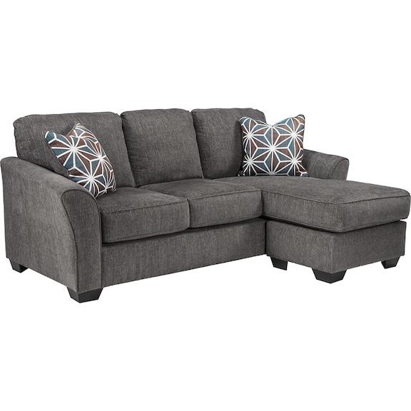Living Room Furniture - Brise Queen Sofa Chaise Sleeper