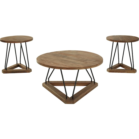 Accent and Occasional Furniture - Frielone Table (Set of 3)