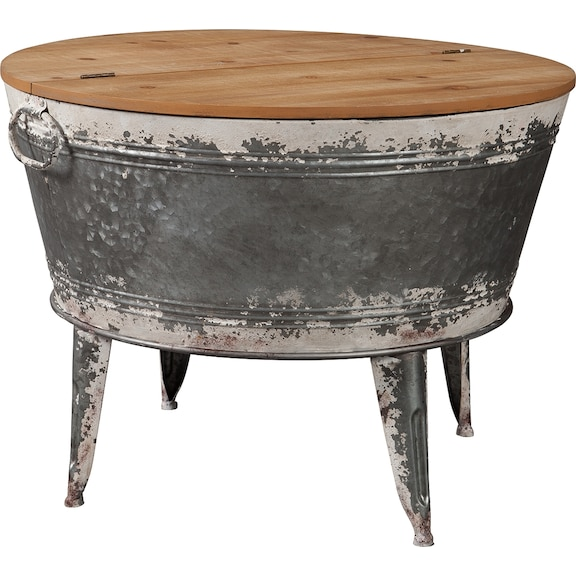 Accent and Occasional Furniture - Shellmond Coffee Table With Storage
