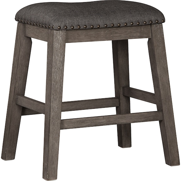 Dining Room Furniture - Caitbrook Counter Height Upholstered Bar Stool