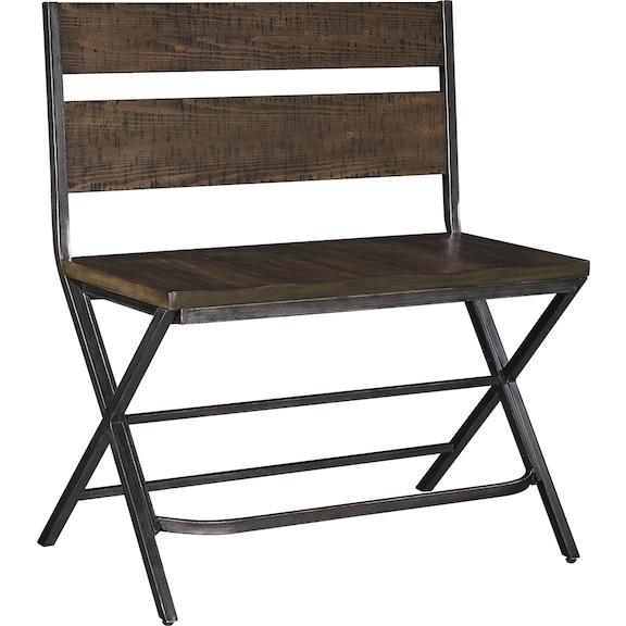 Dining Room Furniture - Kavara Counter Height Double Bar Stool