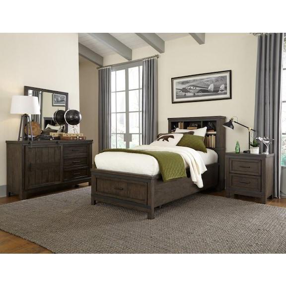 Kids Furniture - Townsend Full Storage Bedroom Set