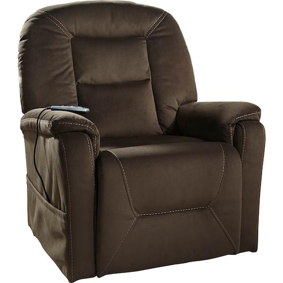 Living Room Furniture - Samir Power Lift Recliner