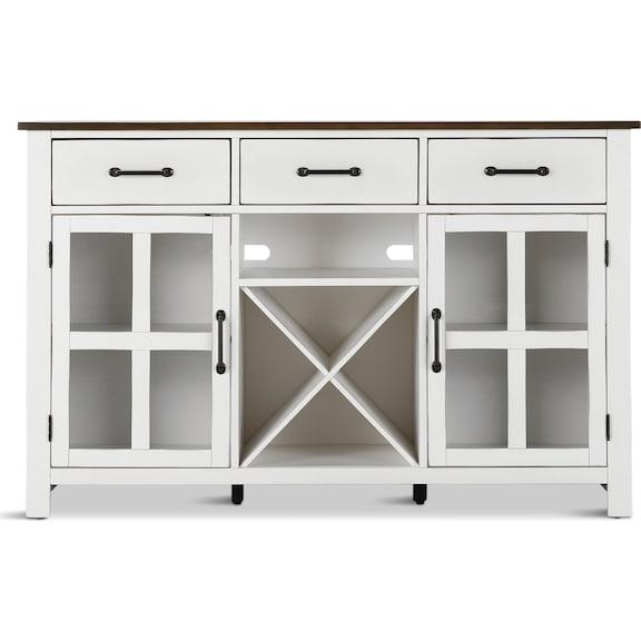 Dining Room Furniture - Sterling Server - White