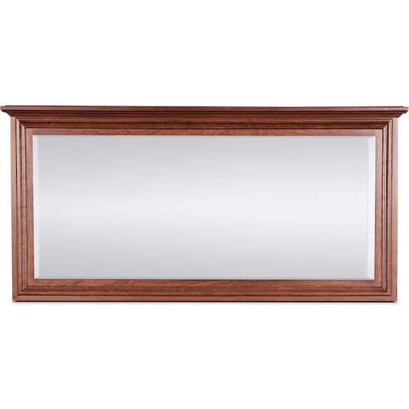 Bedroom Furniture - Amish Classic Wide Mirror