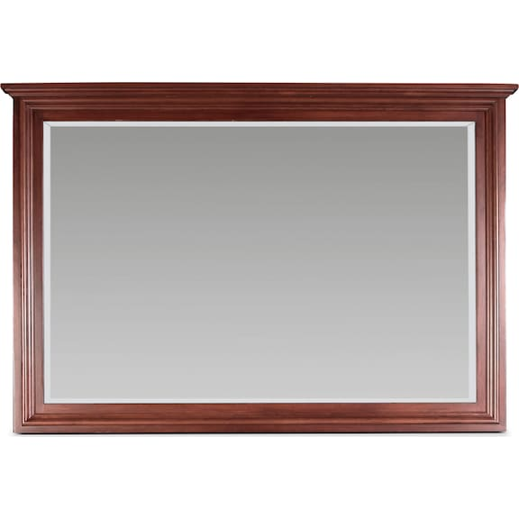 Bedroom Furniture - Amish Classic Landscape Mirror
