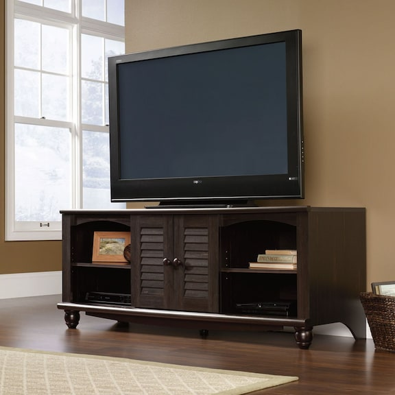 """Entertainment Furniture - Harbor View 63"""" TV Stand - Antique Brown"""