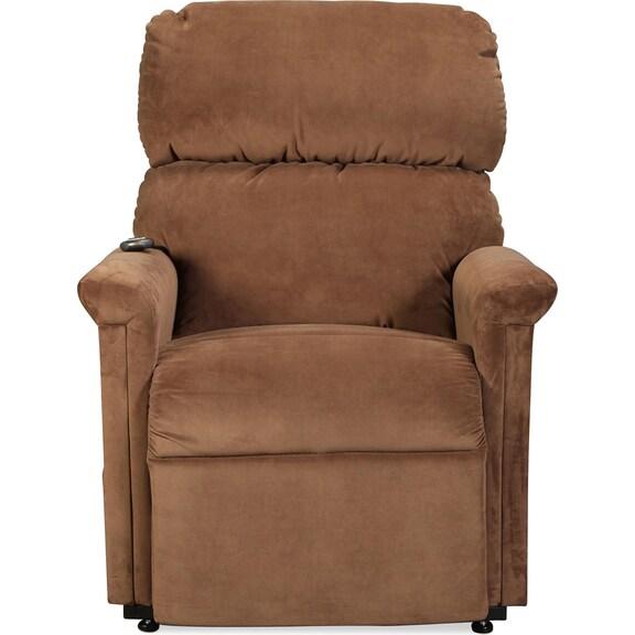 Living Room Furniture - Bridge Creek Lift Chair - Java
