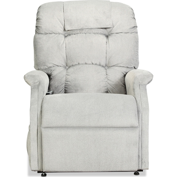 Living Room Furniture - Greyhound Lift Chair - Sterling