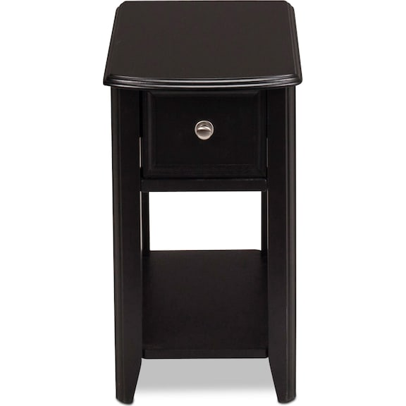 Accent and Occasional Furniture - Shiraz Chairside Table - Espresso