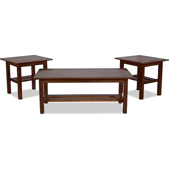 Accent and Occasional Furniture - Adalee Coffee Table and 2 End Tables