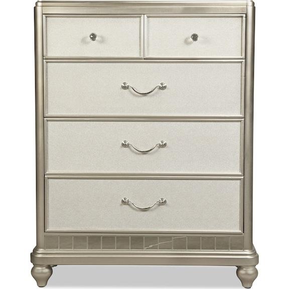 Kids Furniture - Lil' Posh Chest - Platinum
