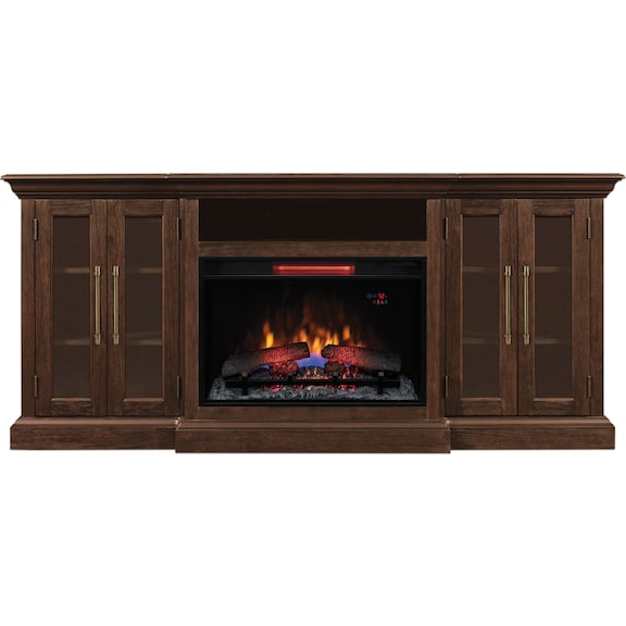 Accent and Occasional Furniture - Grand Media Fireplace