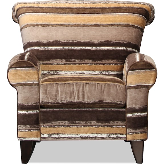 Living Room Furniture - Serendipity Accent Chair - Revelation Toffee