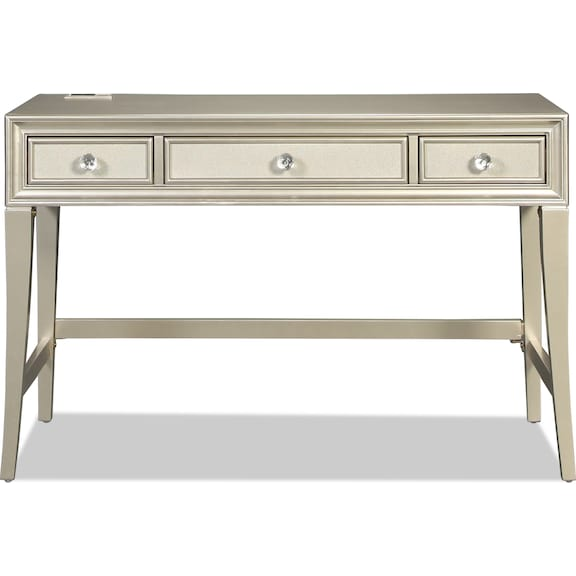 Kids Furniture - Lil Posh Vanity - Platinum