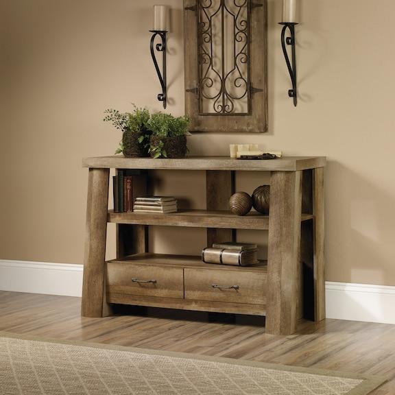 Entertainment Furniture - Boone Mountain Anywhere Console - Craftsman Oak