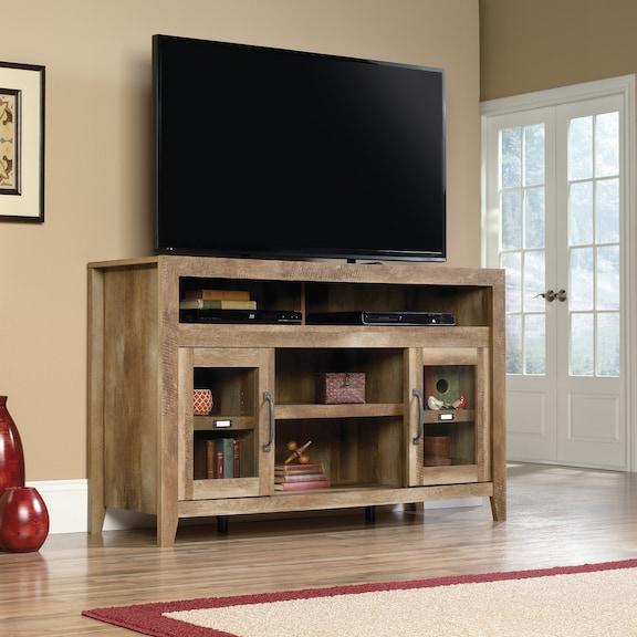 Entertainment Furniture - Dakota Pass Entertainment Credenza - Craftsman Oak