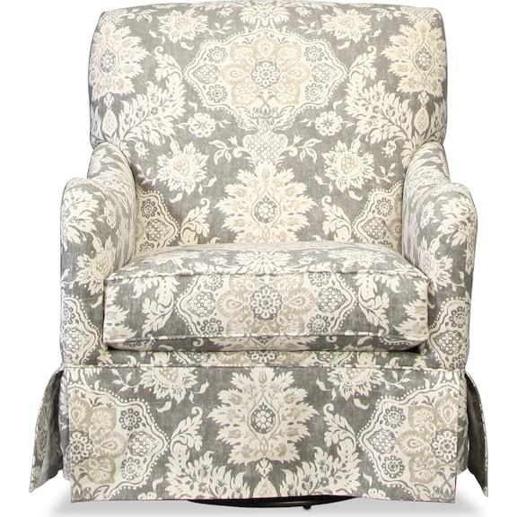 Living Room Furniture - Cora Swivel Glider