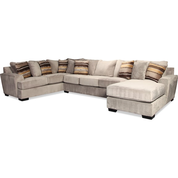 Living Room Furniture - Serendipity 3pc Sectional